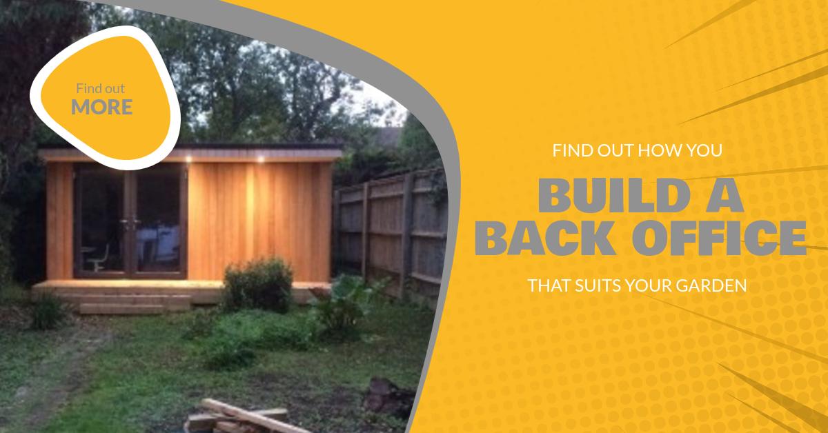 How do you build a backyard office